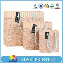 2015 Eco-friendly fashion fragrant paper bag manufacturer for perfume