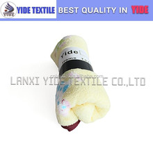 Zhejiang wholesale printing plush baby comforter blankets cosy blankets