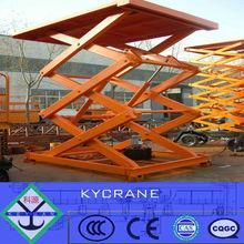 electric scissor lift material handling equipment