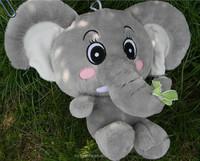 newest design cute lovely plush elephant,plush elephant doll toy