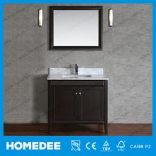 HOMEDEEantique wood bathroom vanity tall bathroom vanity / Modern Furniture