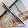 Metal executive gift ball pen with luxury pen case