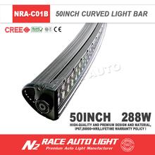Factory Direct Offroad High Lumens Super Bright Radius 288W LED Light Bar