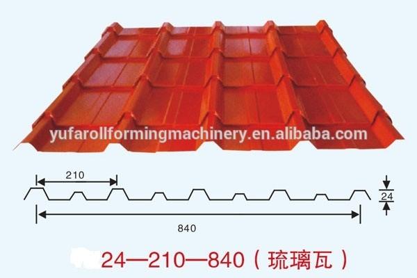 Acier de fabrication de carreaux de machines/carreaux de céramique vernissés lumière jauge poutrelle goujon laminé à froid formé machine