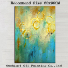 Golden Supplier Wholesale High Quality Modern Abstract Oil Painting For Wall Decoration Handmade Abstract Oil Painting For Art