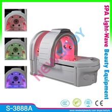 2015 top sale infrared spa causule / ozone dry steam sauna CE / photon 15 Big lights therapy spa capsule