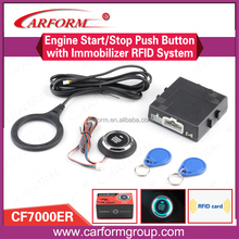 Good quality and best price auto smart start stop button system car alarm