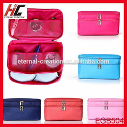2015 Alibaba China Wholesale Low Price Fashion Style Promotional Travel Cosmetic Bag
