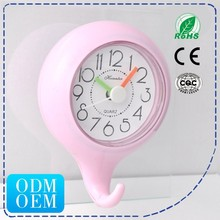 HSD Plastic Quartz Shower Proof Bathroom Clock 228G