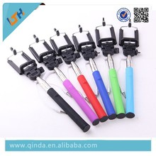 Newest Factory Cheap Wholesale Selfile Stick 3.5mm cable connection handed selfile monopod sticks Z075-5S
