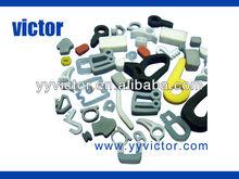 d v o shape silicone nbr epdm spongy foam rubber extruded part profile gasket