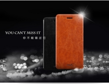 Flip Leather Case Cover For Huawei Honor 7 Mofi Phone Case