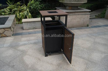 Excellent Wood Plastic Composite Dustbin with SGS