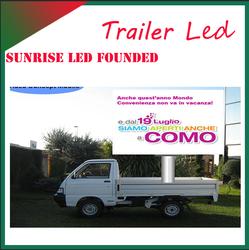 Sunrise 4*2 flow stage car for hot sale flow stage LED truck sale