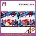2014 nuevo plástico elhombredejuguetes spiderman de juguete, la promoción del juguete para el niño