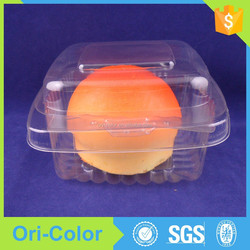 Custom Small Clear Plastic Cake Packaging Boxes