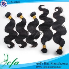 Factory price 100 percent indian remy human hair, 100% human long hair
