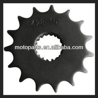 High Quality Motorcycle rear and front Sprockets wheel motorcycle parts/mini bike parts