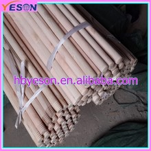 Wooden handles for hand tools/wholesale mops/broom handle thread plastic