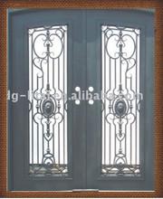decorative wrought iron door grill designs