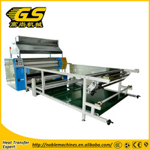 automatic correction of woolen blanket rotary heat press machine