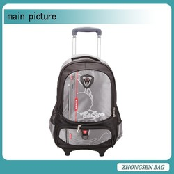 High quality customized backpack 40l nylon trolley backpack