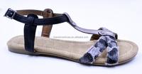 fashion leopard print office comfortable flat shoe for women