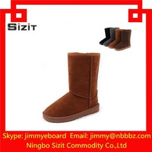 2015 fashional cheap winter snow boots with satin from China