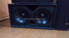 China big factory 1000watt dual 18 inches S218 subwoofer