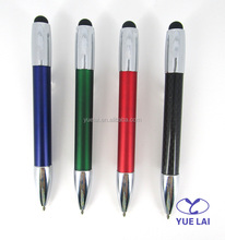 Lovely design metal carbon fiber mini touch pen for promotional