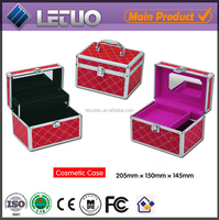 hot new products for 2015 mini small portable carry on cosmetic bags cases professional vanity case