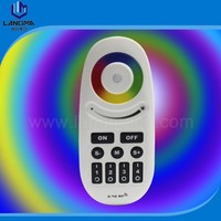 Langma 1Pc Dimmable Mi Light Wireless 2.4G 4-Zone RGBW RF LED Remote Controller for Mi Light Series LED Bulbs and RGB LED Strips