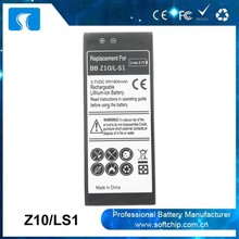 1800mAh Battery for Blackberry Z10 LS1 Battery in China