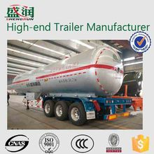 Made in China LPG Tank Trailer to Transport LPG Storage Tank Price
