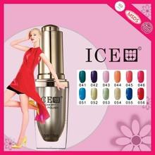Hot 300 Color Glitter Powder Soak off UV Gel System, Nail Art Gel Kit base coat
