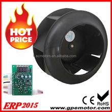 2015 vendita calda ventilatore radiale per la cappa della cucina ventola intelligente