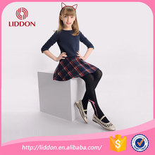 Hot selling children japanese girls cotton tights in pantyhose