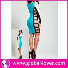 Fashion new style hot sale dress design women fashion clothes 2015