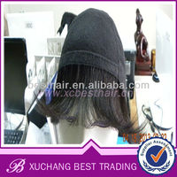 grade aaaaa brazilian hair blond wigs of medium hair
