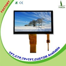 """FT5316 touch controller G+G structure projected capacitive touch panel 7"""""""