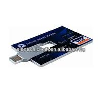 Promotional plastic credit usb card printable,4gb gift card usb,4gb credit name card usb fre samples