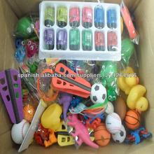 conjunto de juguete de plástico surtido promocional