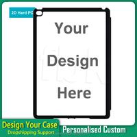 Custom printed back pc phone case for iPad air 2