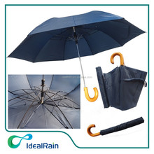 one dollar umbrellas with wooden handle