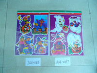 2015 Halloween Party Gel Clings/Window Clings