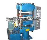 100 ton automatic push in out mould hydraulic press/plate vulcanizing rubber machine