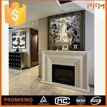 wholesale price fireplace with pebble fuel
