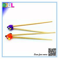 BL-10334 Animal Shape Silicone Guide Chopsticks Bamboo Chopsticks High Quality