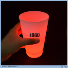 From GMTlight LED flashing cup for party color-changing drinking cup big funny glasses