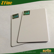 Made in china white ID blank / plastic pvc card